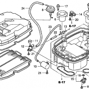Cb450 Wiring Diagram besides Honda Cbx besides Motorcycle Honda Shadow Wiring Diagram besides Throttle And Choke Cables moreover Luchtfilter Vf750c. on 1986 honda cb650